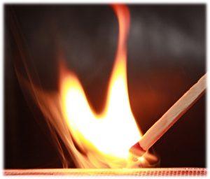 A Small Spark Set Ablaze a Forest Fire