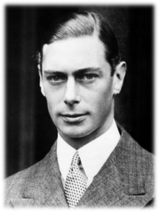 """King George VI - A man with """"faltering lips"""""""