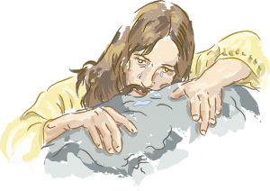 Jesus Supplicates in Gethsemane