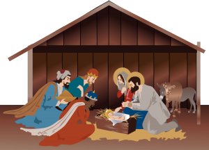 nativity-scene-in-the-stable