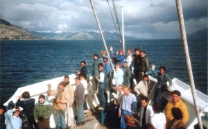Sailing the Magellan Straights on the last voyage before that ill-fated morning.