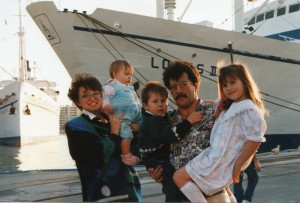 Logos II and Doulos birthed together in Toulon France 1994
